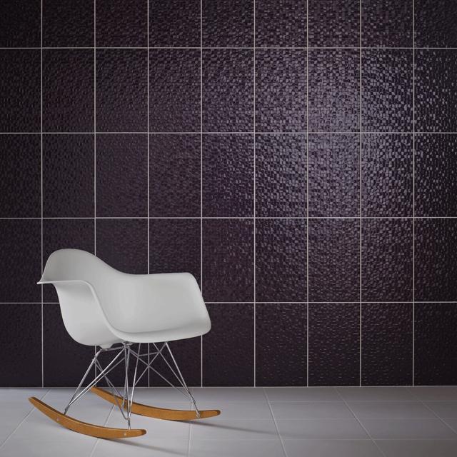 RAN00811 Trace – Studio Conran Tactile Hartland Plum Pressed Mosaic tile 248mm x 398mm