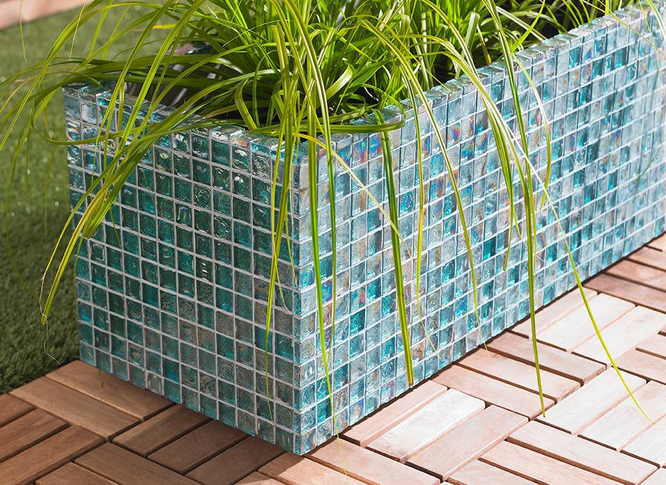 mosaics-planter