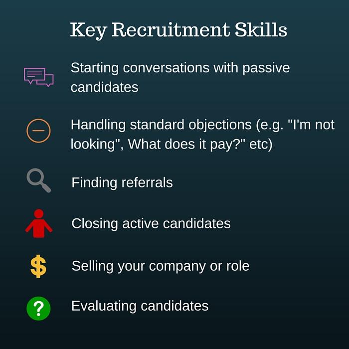 Key recruitment skills