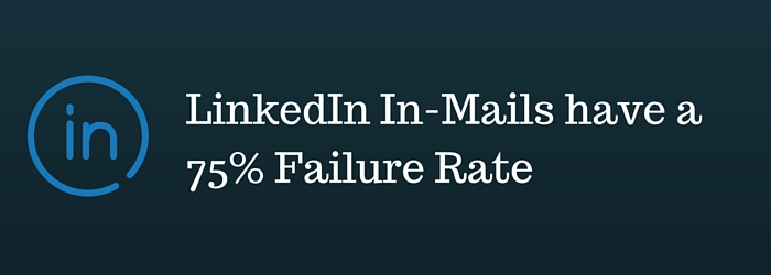 LinkedIn In-Mail Failure Rate