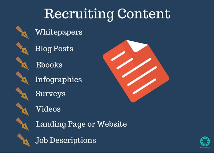 Types of Recruiting Content