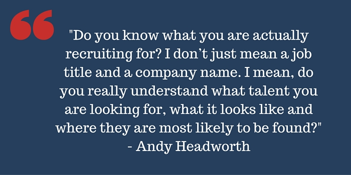 Andy Headworth quote
