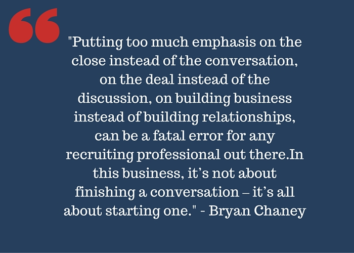 Bryan Chaney quote