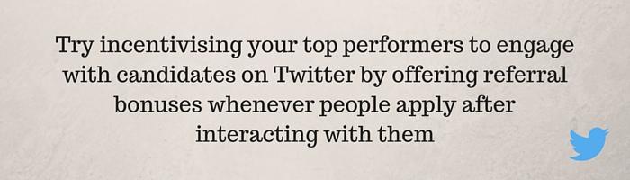 Twitter referrals
