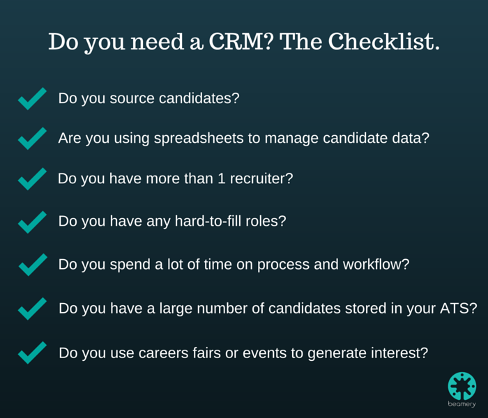 Ats Vs Crm Why Do You Need A Recruitment Crm