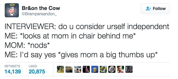 job interview tweets 12
