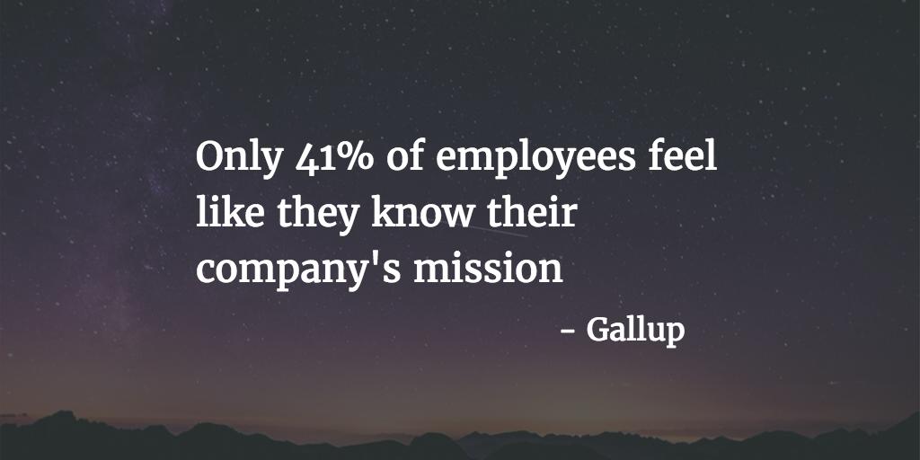 company mission gallup