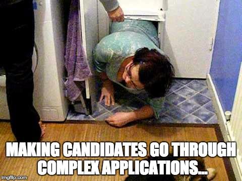 Application form dropoff