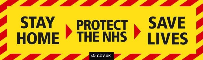 Stay Home - Protect the NHS - Save Lives