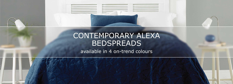 Contemporary Alexa Bedspreads