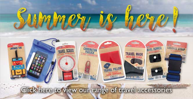 UK Importers of Travel Accessories
