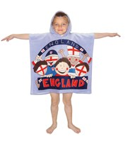 Kids Hooded Poncho Pals Beach, Bath Towels  (Box Quantity 20)