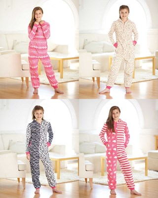 All in One Snuggle Fleeces - Assorted Designs