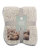 Alpaca Design Blanket Throws (Box Quantity 8)