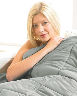 Premium Weighted Blanket 4.6 kg - 101x152cm - Grey