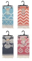 Egyptian Cotton Wrap Beach Throws (Box Quantity 24)