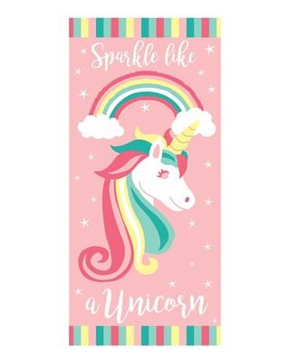 Unicorn Design Printed Beach Towels