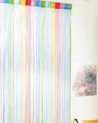 Rainbow Design String Door Curtains (Box Quantity 20)