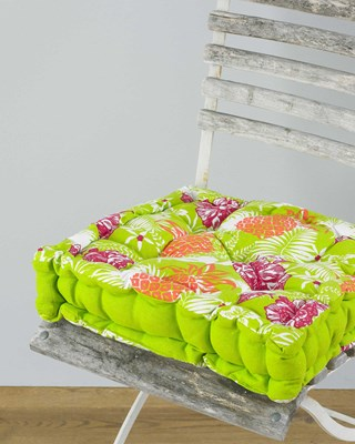 Tropical Design Box Chair Cushions (Box Quantity 12)