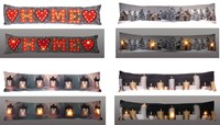 Light Up LED Christmas Design Draught Excluders (Box Quantity 24)