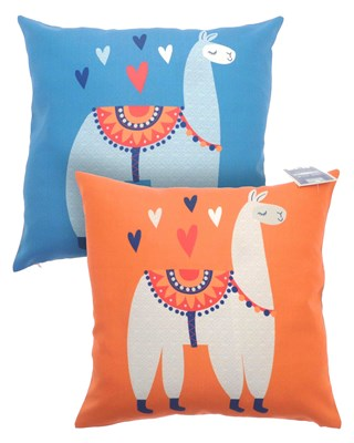 Alpaca Design Reversible Shower Resistant Filled Cushions 43x43cm
