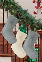 Luxury Faux Fur Christmas Stockings (Box Quantity 48)