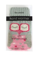 Re-usable Hand Warmers with Knitted Cover (Box Quantity 144)