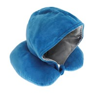 Luxury Hooded Design Travel Neck Pillow (Box Quantity 24)