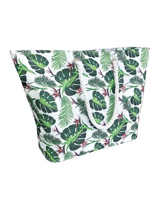 Leaf Design Beach Cooler Bags (Box Quantity 24)