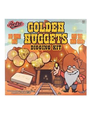 Retro Toys Golden Nuggets Digging Kits (Box Quantity 24)