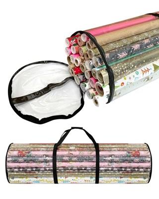 Premium Christmas Wrapping Paper Storage Tubes 104x24cm