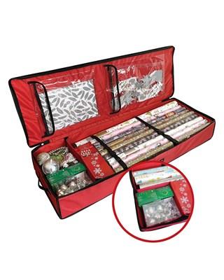 Premium Christmas Gift Wrap Organiser 100x35x14cm