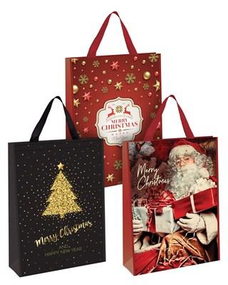 Super Jumbo Christmas Design Gift Bags 50x70x18cm - Assorted Designs