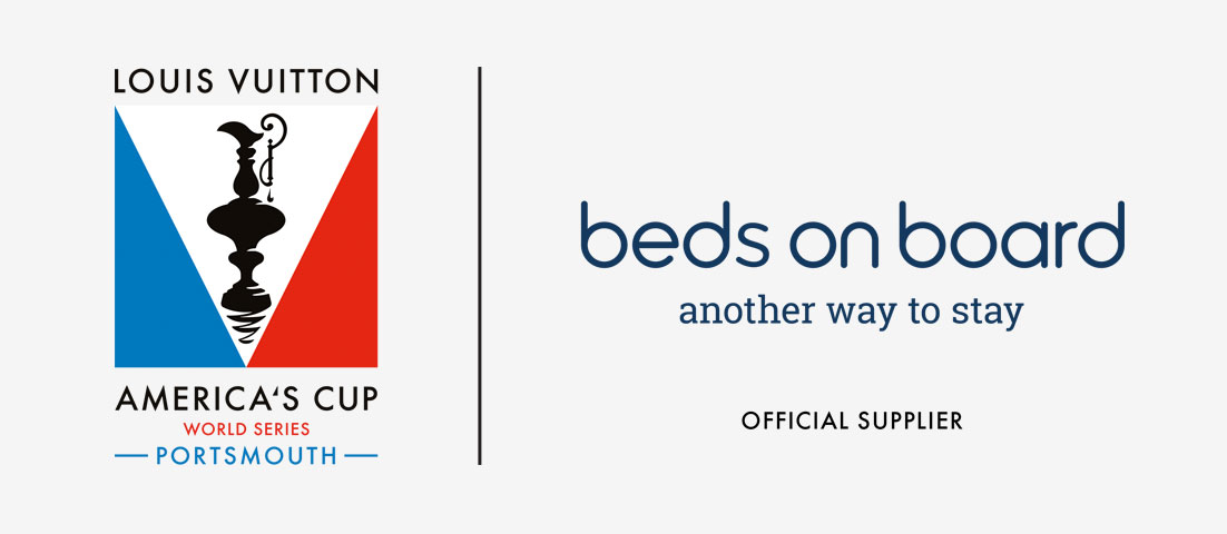 America's Cup World Series \ Beds on Board Logo