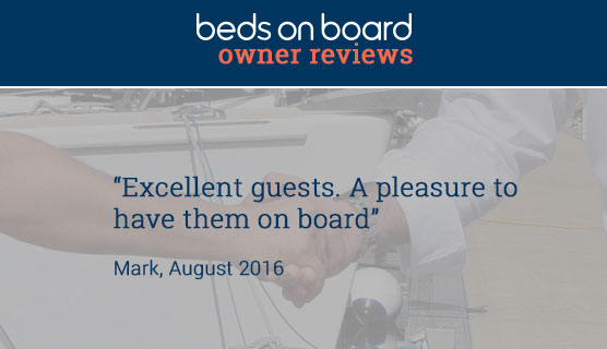 Beds on Board Owner Reviews