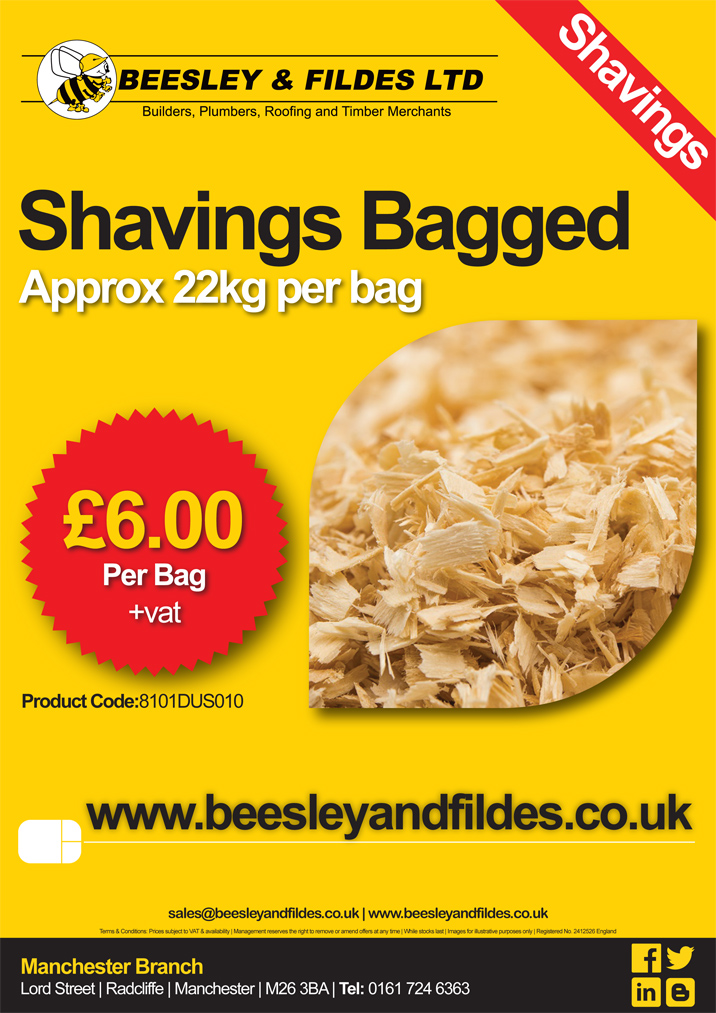 Shavings-Bagged