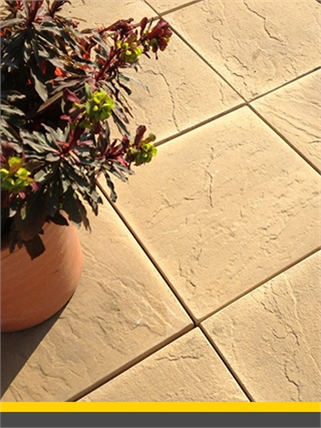 Decrotive-paving-slabs