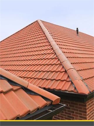 Concrete Ridge Tiles