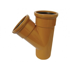 110mm-x-45-deg-underground-double-socket-junction-ref-110-110-d45