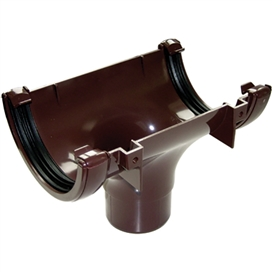 112mm-round-gutter-running-outlet-brown