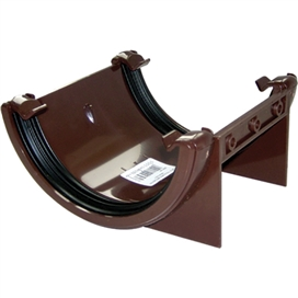 112mm-round-gutter-union-bracket-brown