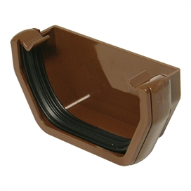 112mm-square-gutter-external-stop-end-brown