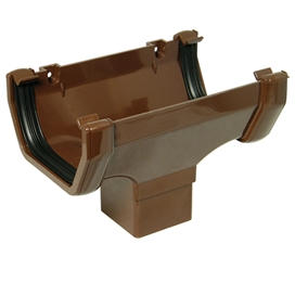112mm-square-gutter-running-outlet-brown