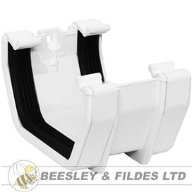 112mm-square-gutter-union-bracket-white-ref-aus1w