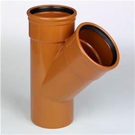 160mm-x-160mm-x-110mm-x-45-deg-underground-double-socket-junction-ref-160-110-d45-1