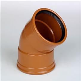 160mm-x-45-deg-underground-double-socket-bend-ref-160-ods-045