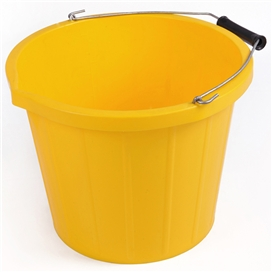 3-gallon-15-litre-yellow-bucket-with-lip-ref-pb1003y