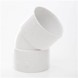 50mm-x-45-deg-abs-obtuse-bend-white-ref-ws20