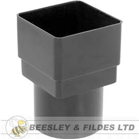 65mm-square-to-round-downpipe-adaptor-black-ref-ads2b