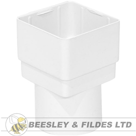 65mm-square-to-round-downpipe-adaptor-white-ref-ads2w